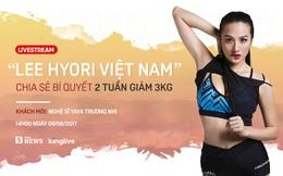 """""""Lee Hyori Việt Nam"""" chia sẻ bí quyết giảm cân, giữ dáng: 2 tuần giảm 3kg chỉ với 1 bài tập"""