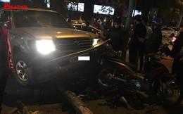 """""""Xe điên"""" gây tai nạn liên hoàn trên phố Hà Nội khiến ít nhất 5 người bị thương"""