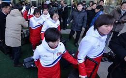 Olympic PyeongChang: Đội khúc côn cầu Triều Tiên đã tới Hàn Quốc
