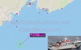 Tàu đánh cá của Nga cùng 21 ngư dân mất tích trên Biển Nhật Bản