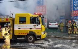 Nóng: Cháy lớn tại một bệnh viện Hàn Quốc, con số thương vong lên tới hơn 70 người