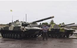 Sprut – Xe tăng của lính dù