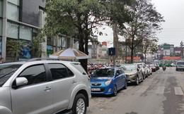 Hà Nội: Điểm trông giữ xe bị dừng vẫn ngang nhiên hoạt động
