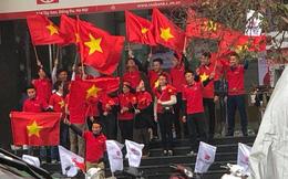 Mạng xã hội bắt đầu chia sẻ tràn ngập hình ảnh không khí cổ vũ U23 Việt Nam trước trận chung kết lịch sử
