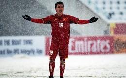 """""""Phù thủy"""" Quang Hải bật khóc sau trận chung kết nghẹt thở"""