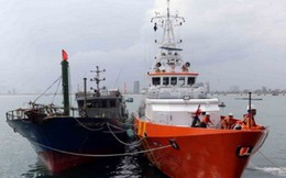 Cứu sống 9 thuyền viên trên tàu cá tại Côn Đảo