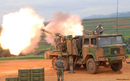 Ngạc nhiên lựu pháo tự hành tối tân nhất của Quân đội Lào