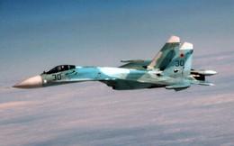 Máy bay do thám Mỹ bị Su-27 chặn gần biên giới Nga