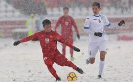 """""""Cầu vồng trong tuyết"""" của Quang Hải không có đối thủ ở cuộc đua do AFC tổ chức"""