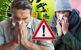 """Bệnh cúm """"gần như không ai tránh được trong mùa đông nước Anh"""" lan tràn khắp thế giới"""