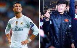 """1 triệu người xem trong 18 phút, thủ môn Bùi Tiến Dũng có thể """"hốt bạc"""" giống Ronaldo?"""