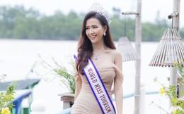Hoa hậu Phan Thị Mơ quảng bá du lịch cho quê hương