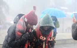 Cập nhật mới nhất tin gió mùa đông bắc: Hà Nội mưa rào gió rét, thấp nhất 19 độ