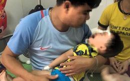 Bé trai 2 tuổi bị chó becgie nhà nuôi cắn rách nhiều vùng trên mặt
