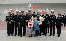 Tàu 015-Trần Hưng Đạo tham dự duyệt binh tàu quốc tế tại Jeju, Hàn Quốc