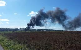 1 tiêm kích F-16 phát nổ, 1 chiếc khác bị hư hỏng nặng ở căn cứ không quân Florennes