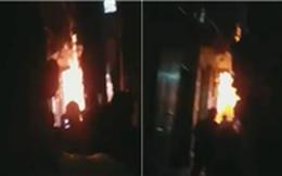 Hà Nội: Mâu thuẫn gia đình, chồng châm lửa đốt nhà khiến 3 người bị thương