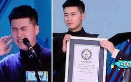 Thanh niên Trung Quốc phá kỉ lục Guinness nhờ giọng nam cao đến mức không ai nghe ra là tiếng gì