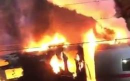 Hiện trường tàu cao tốc cháy rụi tại Đức, 500 hành khách tháo chạy