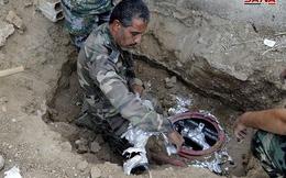 Phát hiện lô vũ khí lớn của khủng bố dưới lòng đất