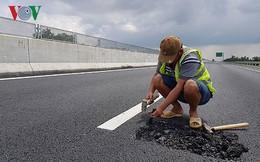 Cao tốc 34.000 tỷ vừa thông xe đã hỏng: Phải có người chịu trách nhiệm