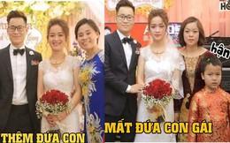 Biểu cảm trái ngược của 2 họ và chuyện cô dâu nào cũng hiểu nhưng không nói vào ngày cưới