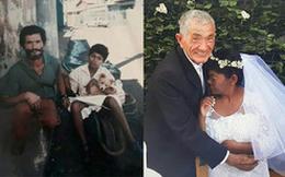 """Cái kết viên mãn của cụ ông 20 năm đẩy """"người yêu"""" trên xe cút kít khiến cư dân mạng xúc động rơi lệ"""