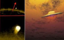 Có những lần vật thể bay nghi UFO xuất hiện ngang Mặt trời nhưng không cháy