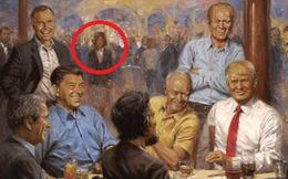 """Tranh vẽ Tổng thống Trump """"tiên đoán"""" Mỹ sẽ có 1 nữ Tổng thống"""