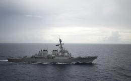 Tàu chiến TQ lao vào chặn ngay trước mũi, suýt va chạm với tàu khu trục Mỹ tại Đá Ga Ven