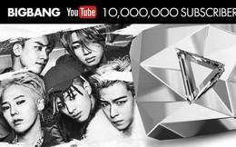 Nút Play Kim cương mà YouTube vừa dành tặng cho Big Bang có gì đặc biệt?
