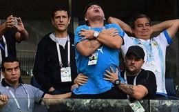 Bệnh tật đeo bám, Maradona đứng trước nguy cơ phải dùng chân giả