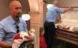 Người đàn ông chia sẻ bức ảnh vợ ôm con nằm trong quan tài cùng câu chuyện ám ảnh và kêu gọi bản án cao nhất cho kẻ giết người