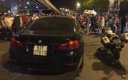 Nữ tài xế BMW gây tai nạn liên hoàn ở Sài Gòn uống rượu bia trước khi xảy ra vụ việc
