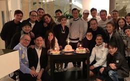'Ngũ hổ tướng Hong Kong' hội ngộ ở sinh nhật 'Dương Quá' Cổ Thiên Lạc