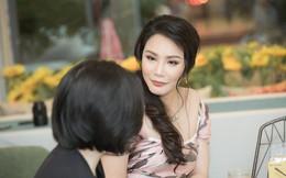 """Hồ Quỳnh Hương diện đầm gợi cảm, tiết lộ lý do """"mất tích"""" khỏi showbiz"""