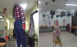 Mùa Halloween sắp đến: Lớp bỗng biến thành phim trường kinh dị, mỗi ngày đi học đều thót tim