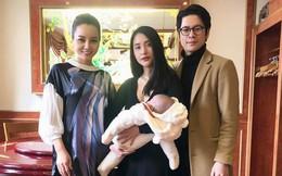 Hình ảnh hiếm hoi của vợ chồng Mai Hồ và con gái đầu lòng sau 8 tháng sang Đức định cư