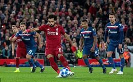 """Champions League: Salah """"bùng cháy"""" dữ dội; PSG """"chết hụt"""" ngay trên sân nhà"""