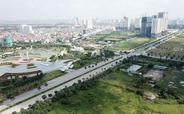 Mãn nhãn với con đường có 10 làn chuẩn bị thông xe ở Hà Nội