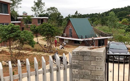 Biệt phủ ở Sóc Sơn: Đình chỉ công tác Chủ tịch xã Minh Phú