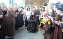 Thiền sư Thích Nhất Hạnh đã về tới Đà Nẵng hôm nay