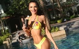 Hoa hậu ngất xỉu khi đăng quang: Là nữ luật sư kiêm đầu bếp nóng bỏng nhất Paraguay
