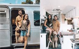 Từ chiếc xe cũ rích, cặp đôi mê xê dịch đã biến nó thành ngôi nhà mơ ước