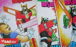 Những điểm thú vị về dũng sĩ Hesman, siêu anh hùng khiến bao thế hệ 8x, 9x thổn thức