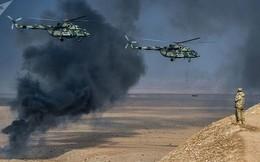 Những lần trực thăng không vận Nga bay trên các điểm nóng