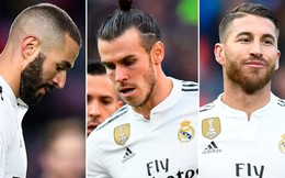 """CĐV Real Madrid xem Bale, Ramos và Benzema là """"tội đồ"""" gây ra khủng hoảng"""