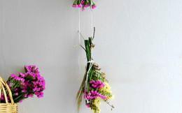 Hướng dẫn cách làm hoa khô đơn giản từ hoa tươi giúp nhà đẹp mà lại tiết kiệm chi phí