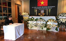 Lễ viếng và mở sổ tang nguyên Tổng Bí thư Đỗ Mười tại Thái Lan, Hàn Quốc