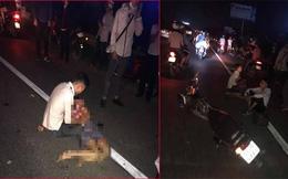 Tai nạn liên hoàn ở Hưng Yên, chồng khóc thảm thiết khi vợ mang thai thiệt mạng
